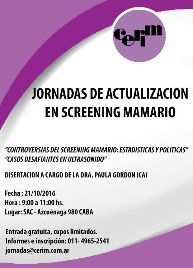 Screening Mamario
